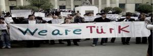 تجمع دانشجویان ترک در دانشگاه تهران