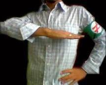 سلام و نشان حزبی اعضای حزب پان ایرانیست